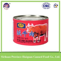 2015 hot selling convenience canned meat curry beef