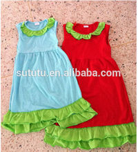 Latest Design In Kids Wear Dresses With Elegant Long Layered Dress And Bright Color Girls Dresses
