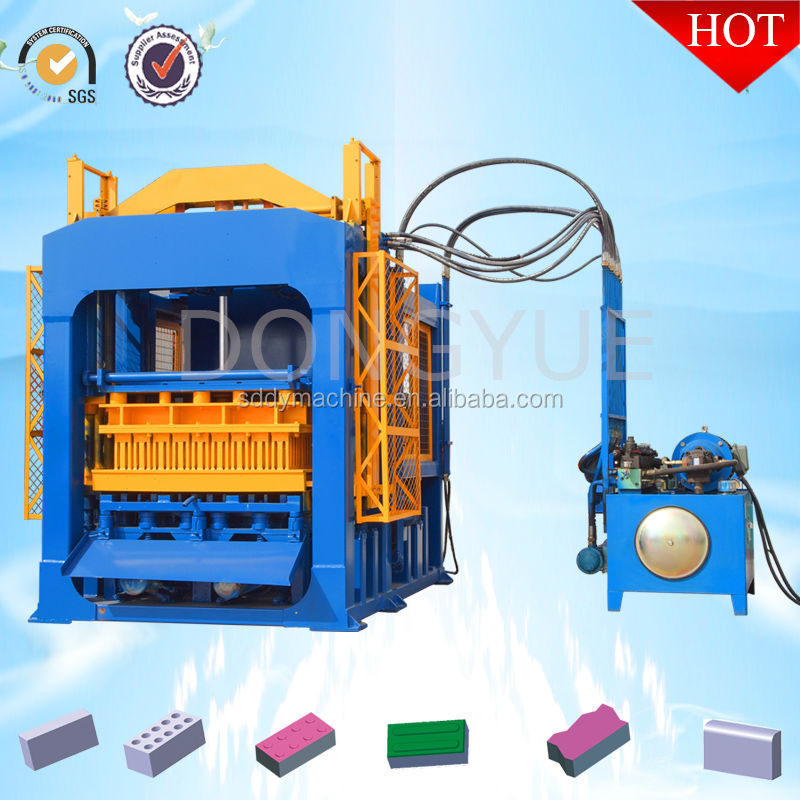 color concrete behaton paver block making machine QT10-15