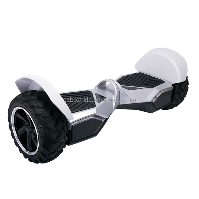 2017 Newest 2 wheel Electric Smart Self Balance Scooter With LED Light bluetooth hoverboard