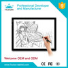 New Fashion!!!Huion new style tracing board led light pad tattoo tracing pad for artists A3