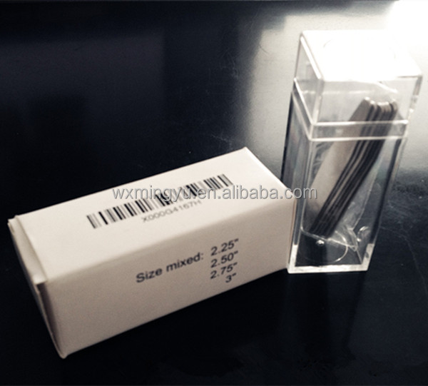 Plastic Tube Packaging Boxes Transparent For Shirt Packaging Accessories