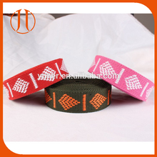 Customized woven belt cotton Webbing canvas Strap