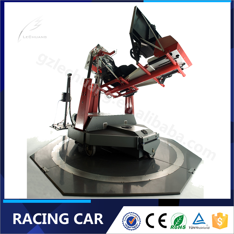 Newest Electrical System Motion Platform Free Racing Games Downloads Simulator Game Machine