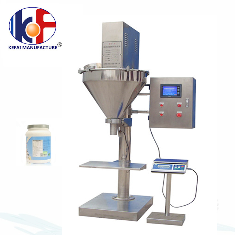 factory cost manual powder filling machine