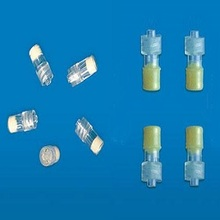 Medical disposable yellow round shape luer lock Heparin cap