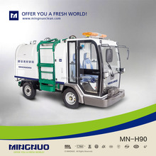 mingnuo 2017 hot sale electric garbage transport vehicle/auto-dumping truck/garbage loading car