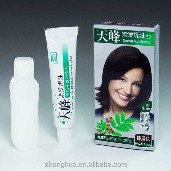Plant Hair dye cream hair color