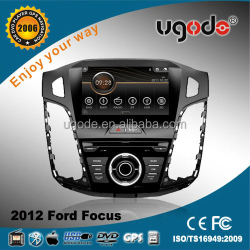 Two Din Car in Dash Car GPS Navigation Player for 2012 Ford Focus with GPS, FM/AM Radio,DVD Player