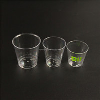 Good quality clear ps plastic cups with different sizes