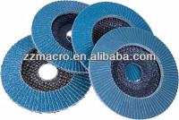 sharp &wear-resisting 36#-600# zirconia stainless steel buffing wheels for wood , metal , HSS . stainless steel polishing