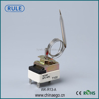 Home Appliance Capillary Thermostat Heating Parts