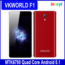 Original VKworld F1 3G WCDMA 4.5 inch Smartphone Android 5.1 MTK6580 Quad Core 1.3GHz 8GB ROM 1GB RAM Dual SIM With Play Store