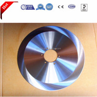Circular Rim Stainless steel for paper machine Cutter Saw Blade with Flange