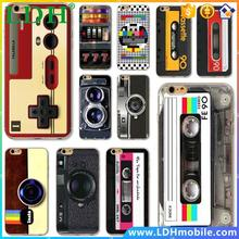 Soft Silicon Back Case For iPhone 4 4S 5 5S 5C 6 6S 6Plus 6s Plus Ultra Thin Vintage Art Phone Case Audiotape Camera Painting