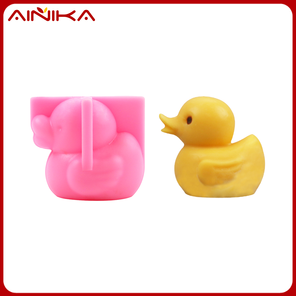 FDA Approved silicone chocolate molds 3D little duck make your cake lovely