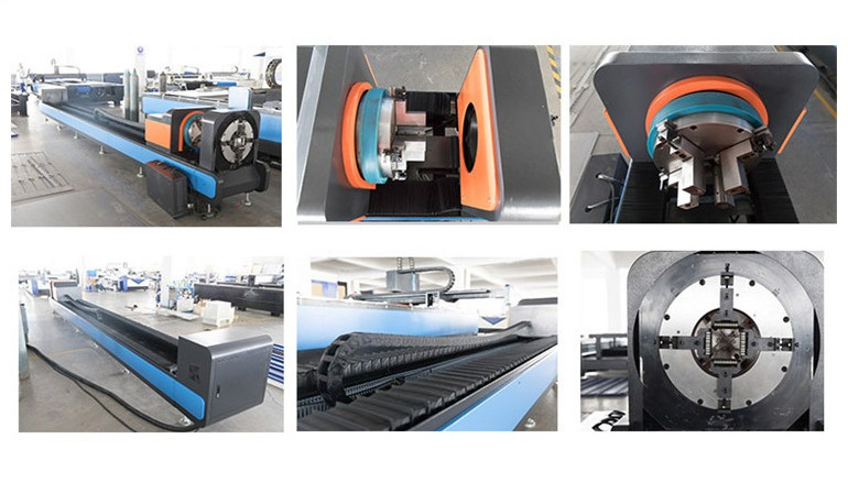 CF1530P fiber laser cutting machine with rotary attachment