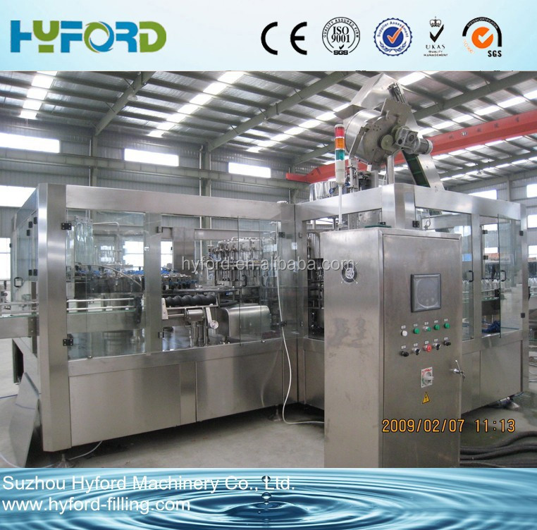 Professional supplier automatic glass bottle filling machine for fruit juice/beer /beverage