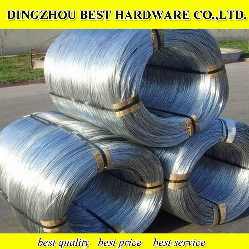 Q195GI wire/galvanized binding wire/iron wire for Dubai market