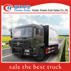 Dongfeng kingrun garbage transport vehicle with 210hp for sale