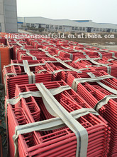 Steel H Gate Shoring Painted Frame Scaffolding