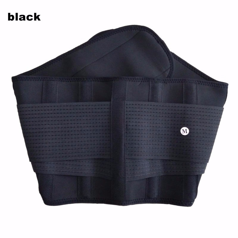 Men And Women Adjustable Waist Support Belt Lumbar Back Exercise Belts Brace Slimming Trainer