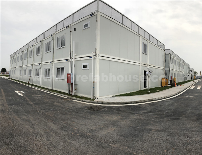 Recyclable Labor Camp Container, prefabricated labor camp