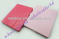 9.7 inch tablet smart leather cover case for iPad 4