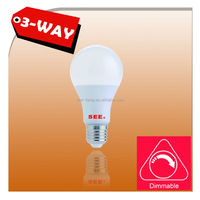 3 way dimmable A19 LED Light Bulb