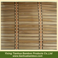 Painted bamboo blinds