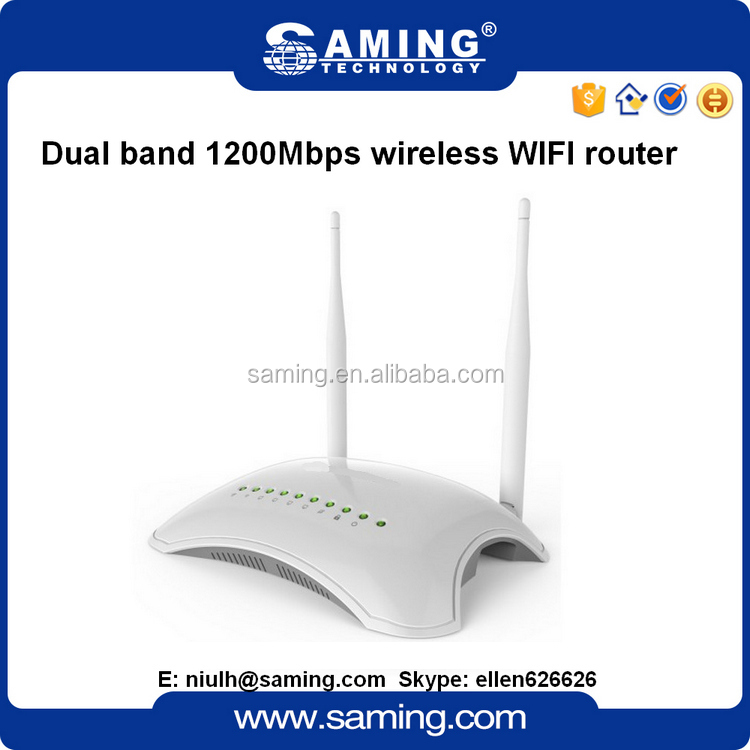 1200Mbps 11ac Wireless wifi N Router with 4 LAN Ports 1 USB port