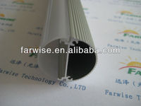 T8 LED tube housing aluminium extrusion case