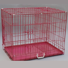 Ventilative Portable Cheap double steel dog cage