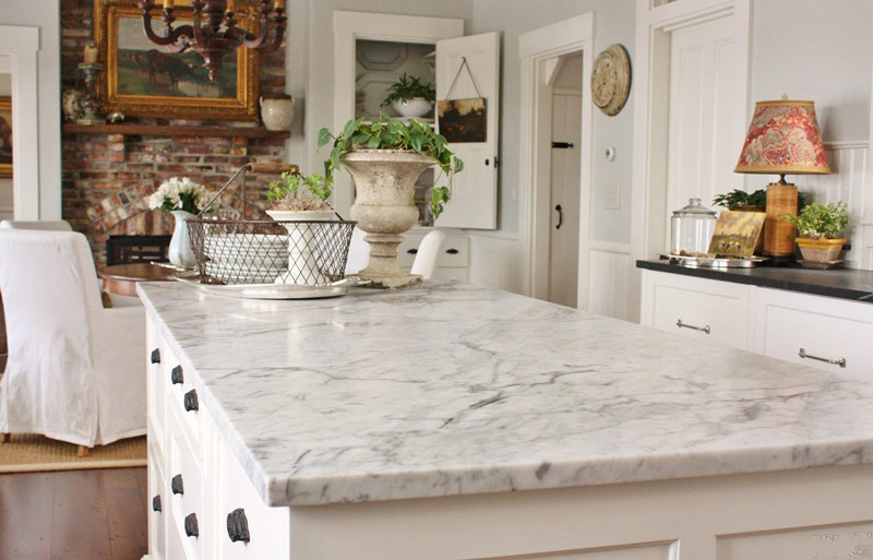 High Quality Composite Stone Man-made White Quartz Counter Tops