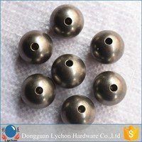 aisi 201 304 threaded stainless steel ball with hole