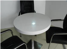 2017 Marble stone solid surface round dining table top,solid surface restaurant Table with Chairs,coffe table
