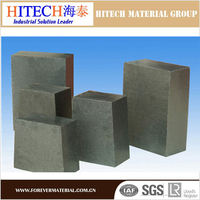 economical price zibo hitech Magnesia Carbon sleeve Bricks for EAF for steel ladle