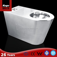 Hospital toilet stainless steel toilet for handicapped