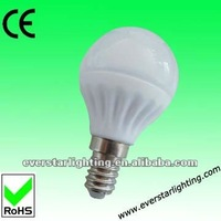 Most power G45 4.5W 390lm led candle e14 led bulb,E14 bulb