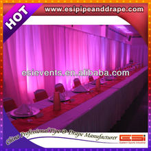 Pipe And Drape And Drape Support And Backdrop Booth For Chrismas Decoration