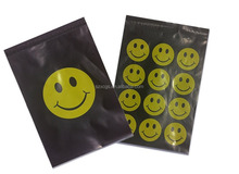Happy Smiley Face 10 x 13 Flat Poly Mailers
