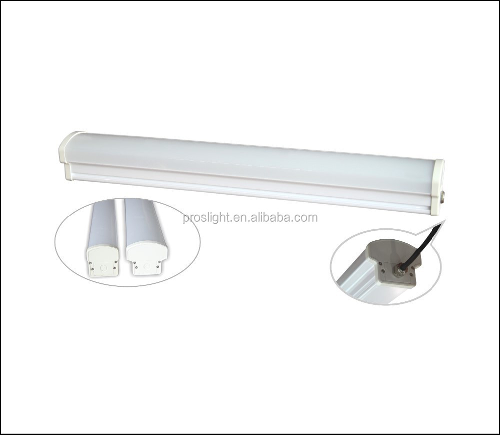 1800mm 72w Emergency LED Vapor Tight Fixture for Garage lighting