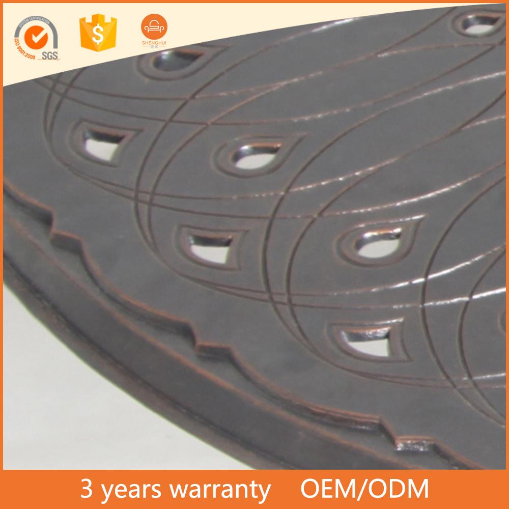 저렴한 도매 중국 제조 캐스트 알루미늄 야외 Lowes 안뜰 가구 ...