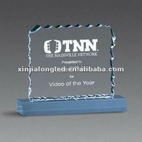 Clear Acrylic Notice Display Holder Stand