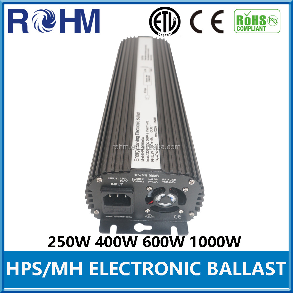 Economy balastro 600w for high pressure sodium light