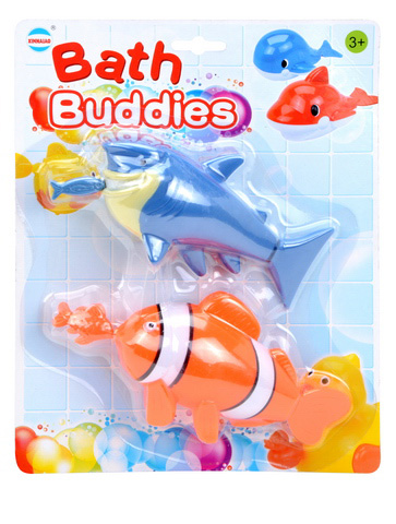 funny bath toys ABS new battery operated swimming fish toy with EN71