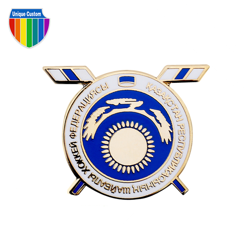 best quality cheap metal enamel lapel pin and badge