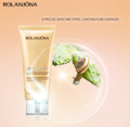 Rolanjona snail slime extract skin care cleaning cream whitening face cleanser