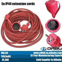13 Years Experience OEM availiabel extension cord waterproof power cable