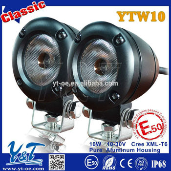 Newest YTW10 12w working light bus light for motorcycle